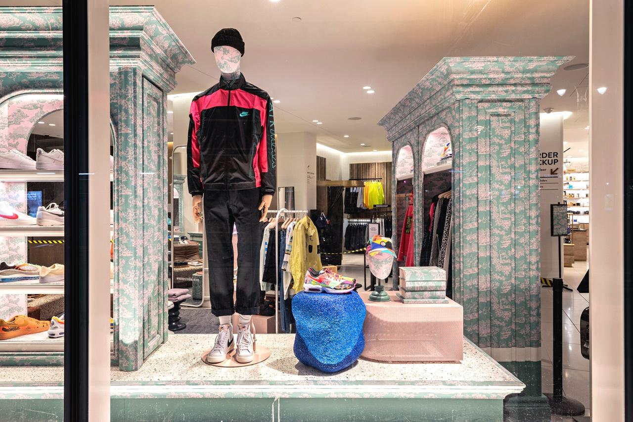 Первый совместный мужской бутик Nike x Nordstrom в Нью-Йорке