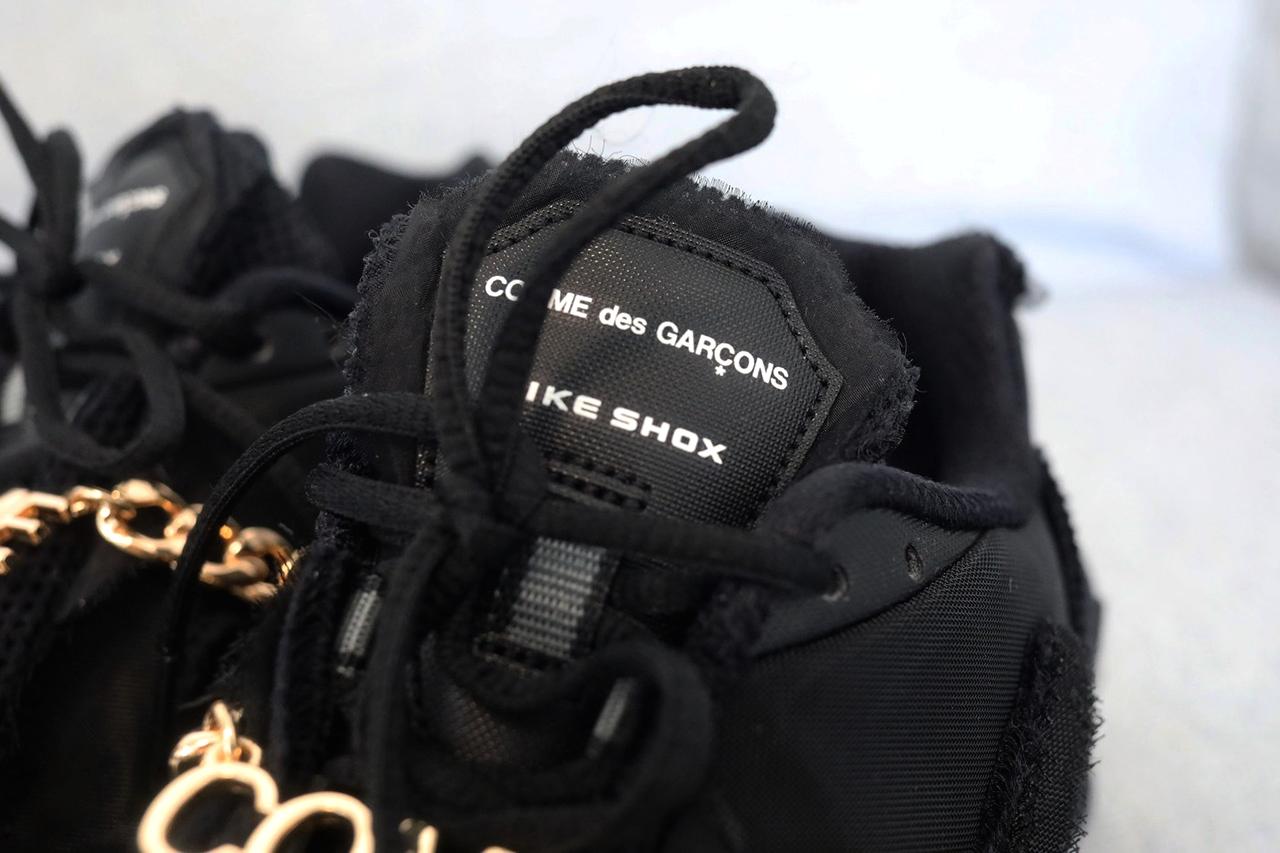Все подробности релиза Comme des Garçons x Nike Shox TL