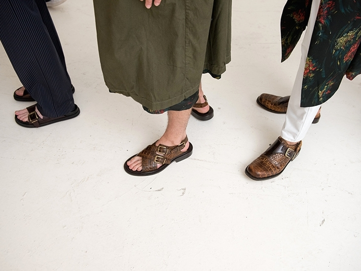 Обувь из коллекции Dries Van Noten Spring/Summer 2020 Menswear