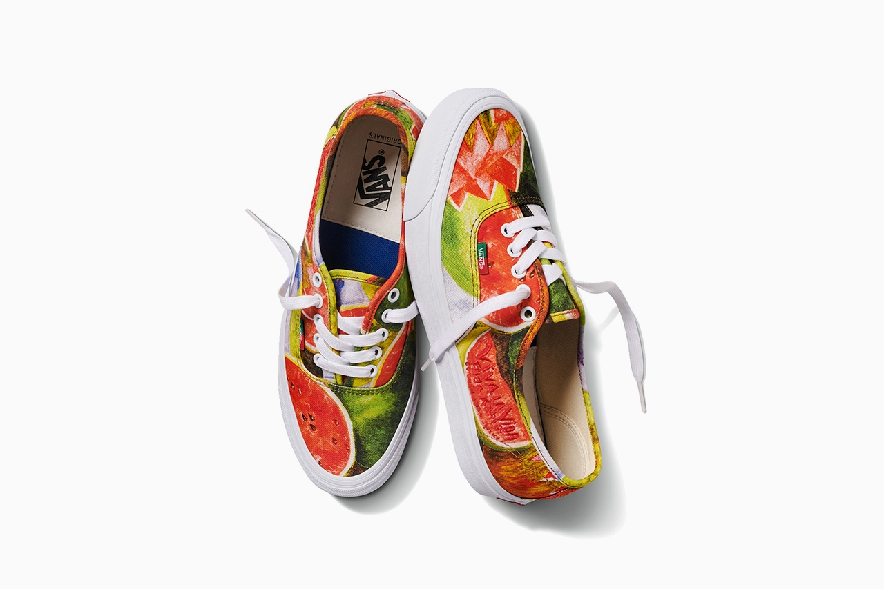 Frida Kahlo x Vans Vault Authentic