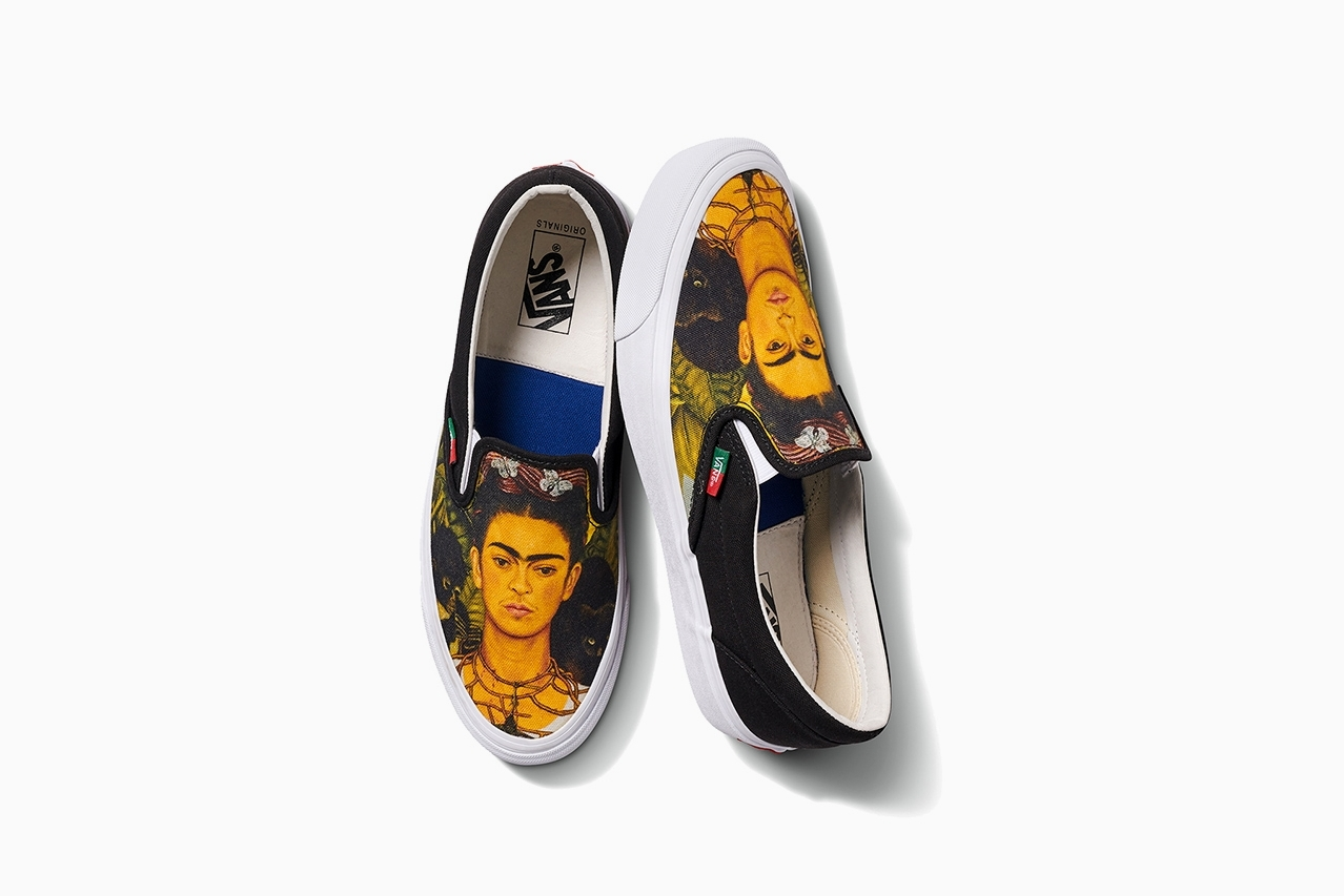 Frida Kahlo x Vans Vault Slip-On