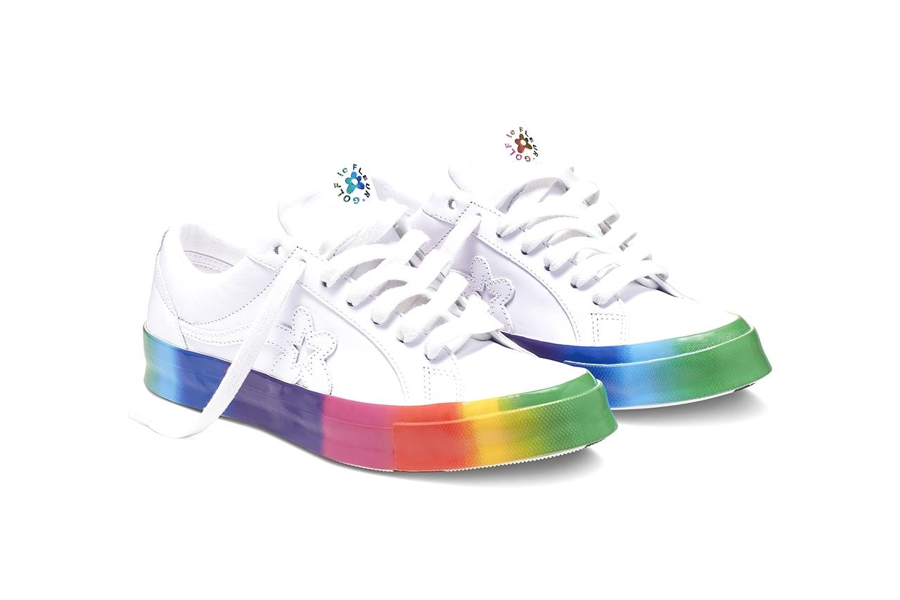 GOLF le FLEUR x Converse One Star «Rainbow»