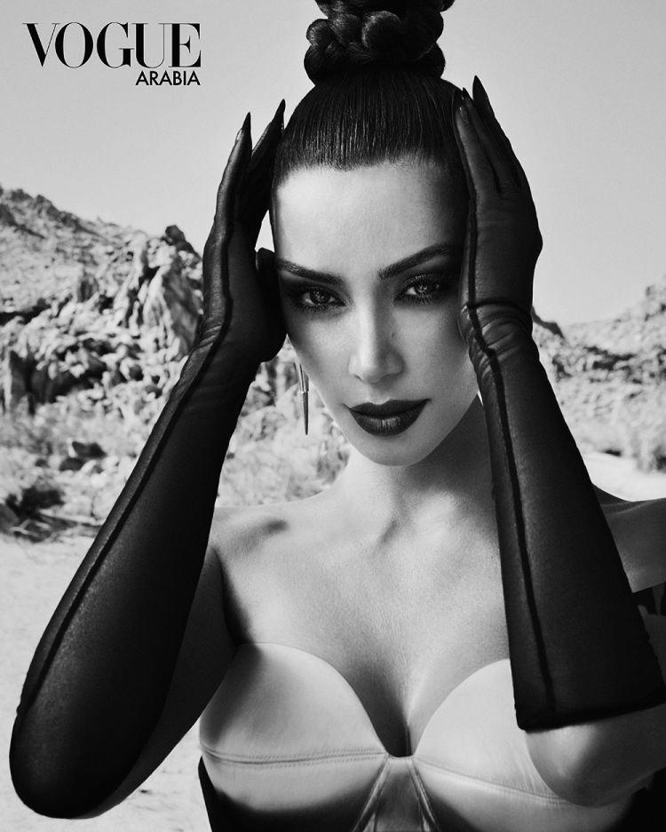 Ким Кардашьян для Vogue Arabia