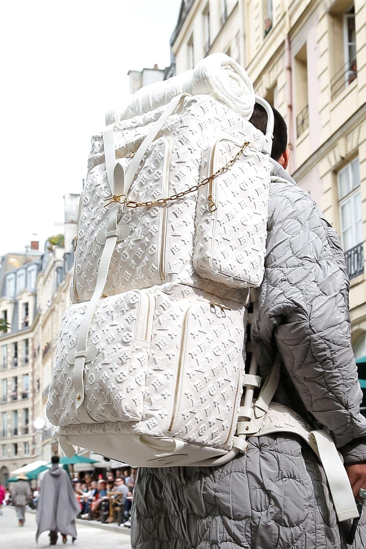 Рюкзак из коллекции Louis Vuitton Spring/Summer 2020 Menswear