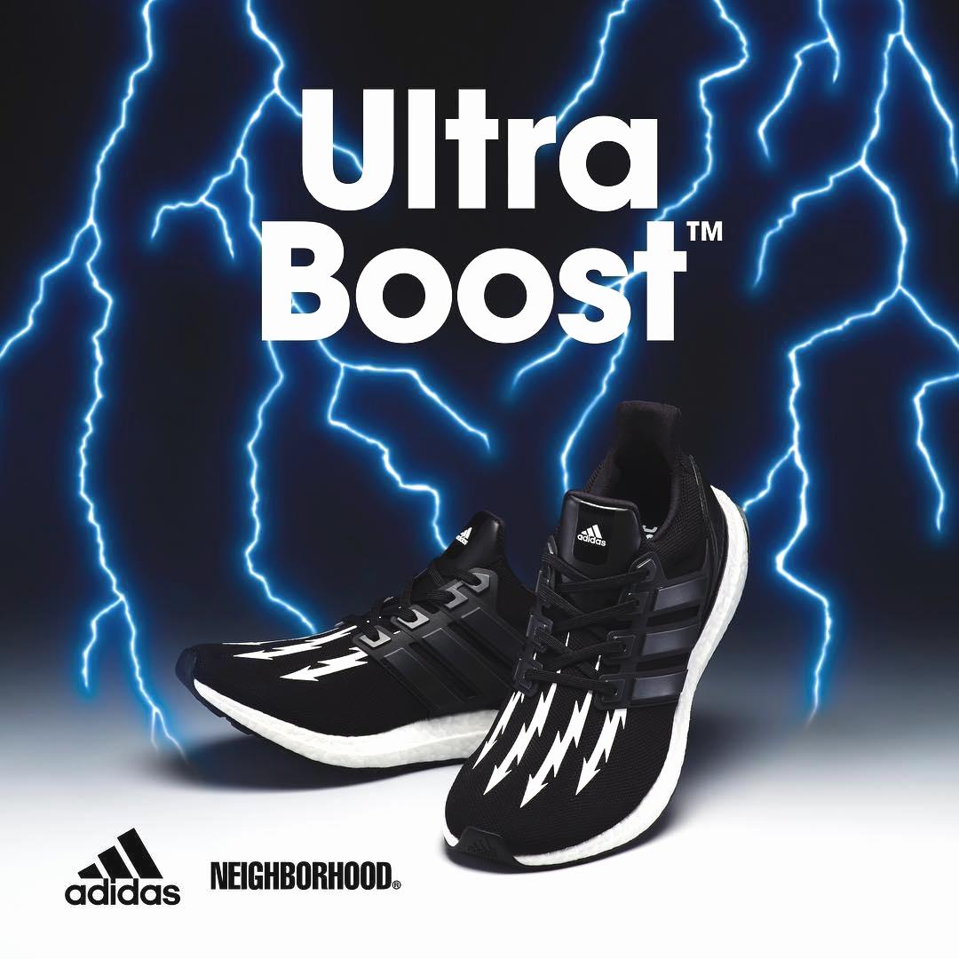NEIGHBORHOOD x adidas Ultra Boost - подробности коллаборации
