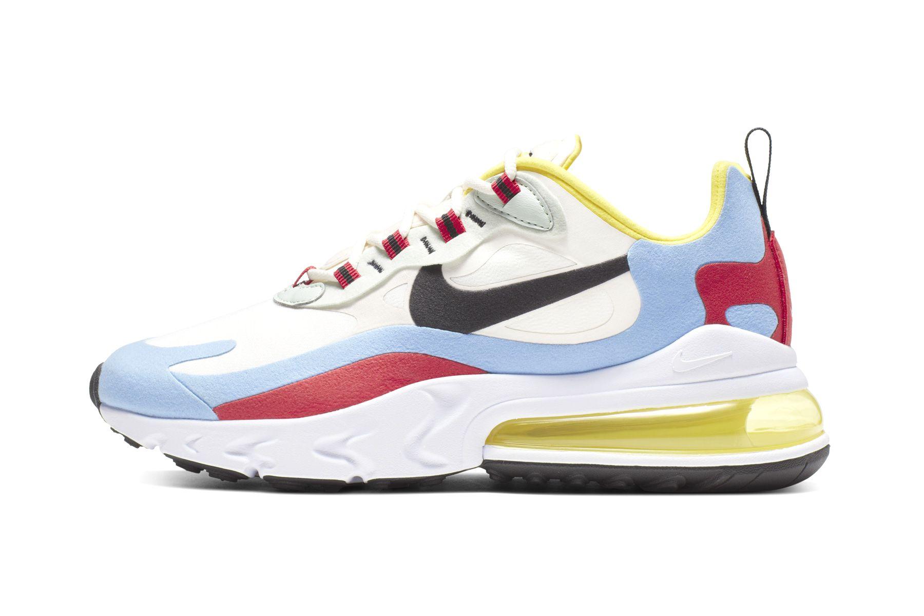 Nike Air Max 270 React - все о релизе нового силуэта