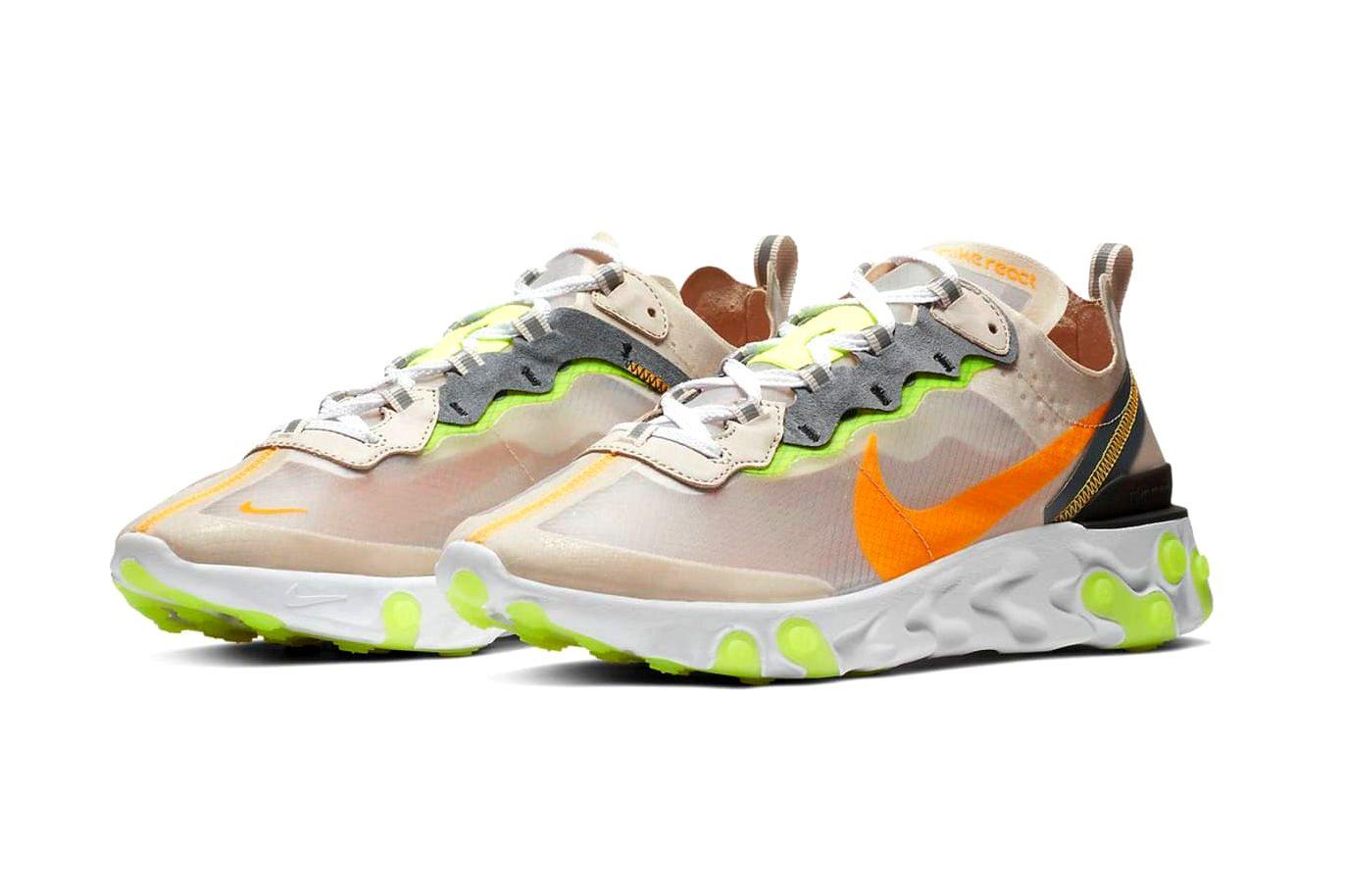 Nike React Element 87 «Light Orewood»