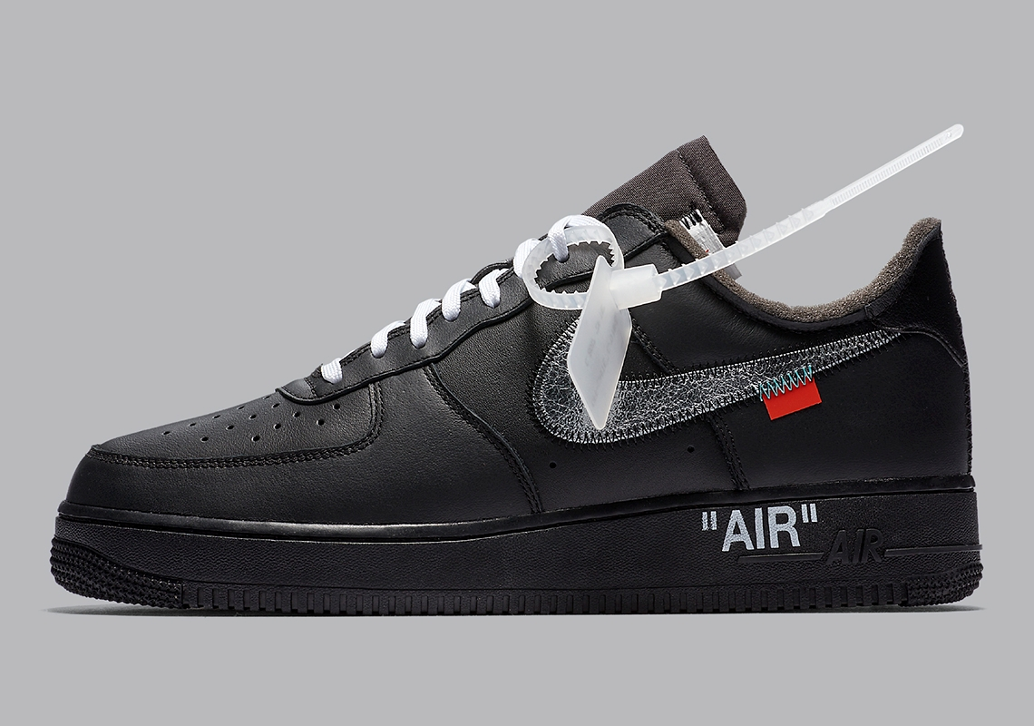 Официальные изображения Off-White x Nike Air Force 1 MoMA