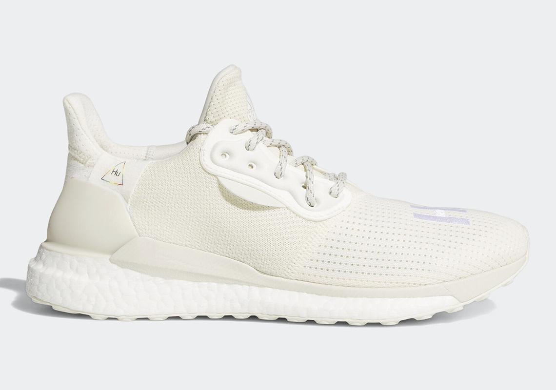 Pharrell x adidas SOLARHU Glide «Off White»