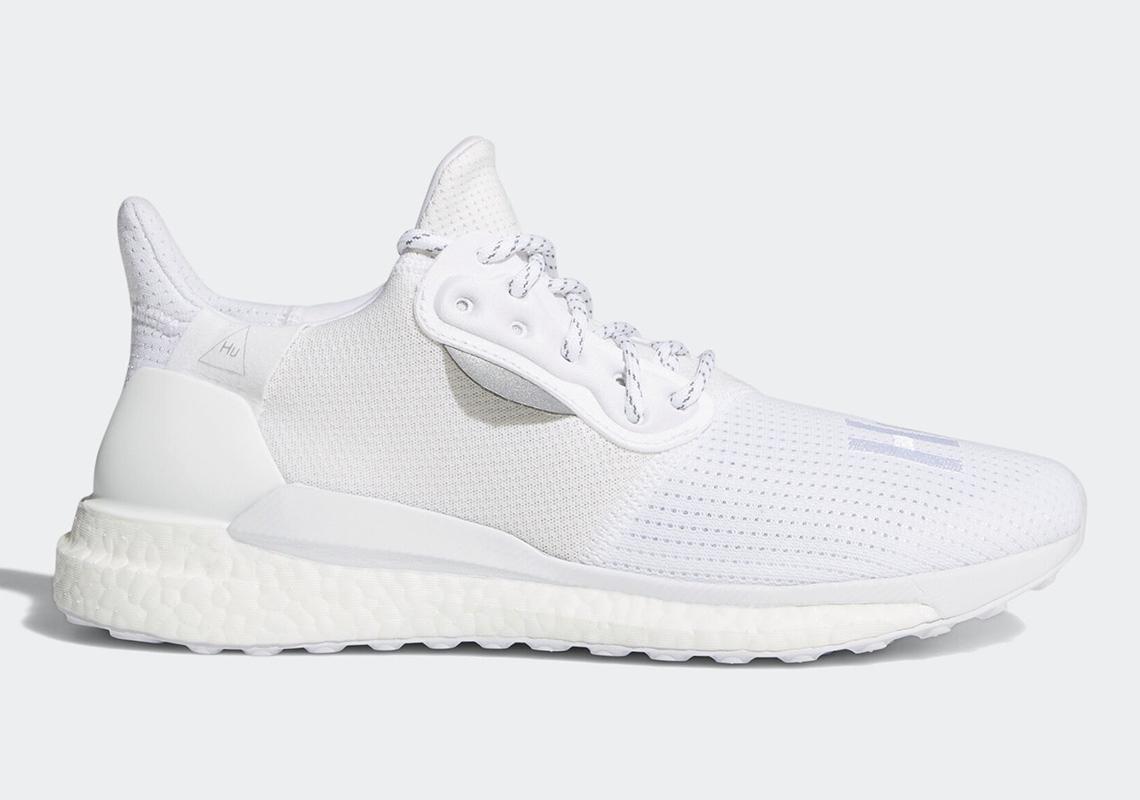 Pharrell x adidas SOLARHU Glide «White»