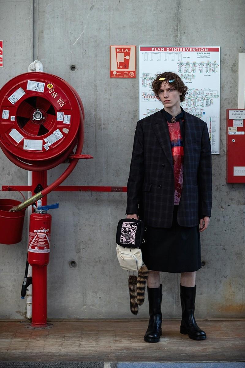 Образ из новой коллекции Raf Simons Spring/Summer 2020 Menswear