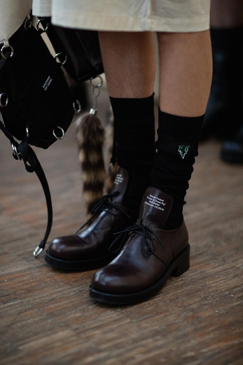 Обувь и сумка из новой коллекции Raf Simons Spring/Summer 2020 Menswear