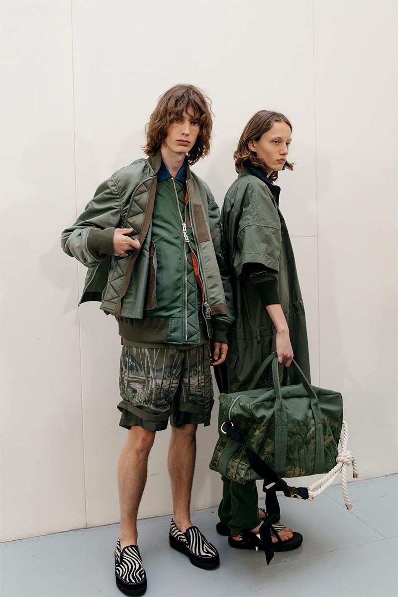 Образы из коллекции Sacai Spring/Summer 2020 Menswear