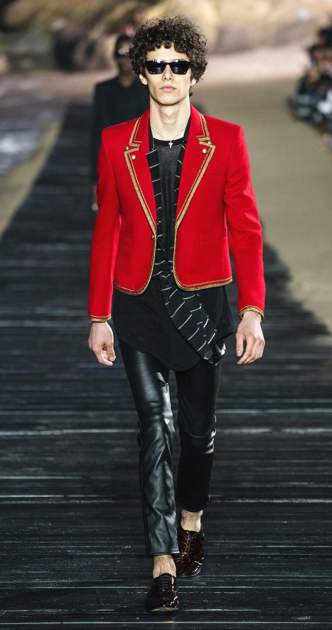 Saint Laurent Spring/Summer 2020 Menswear - все о новой коллекции