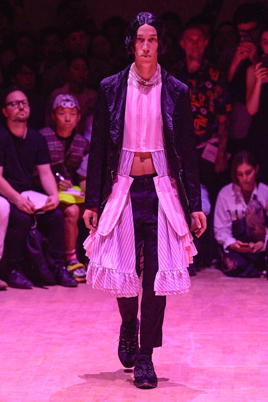 Образ из коллекции Comme des Garçons Homme Plus Spring/Summer 2020 Menswear