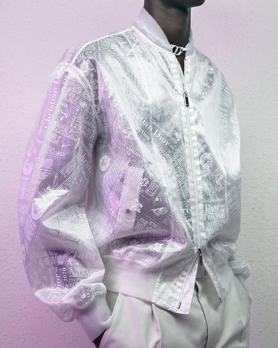 Образ из коллекции Dior Spring/Summer 2020 Menswear