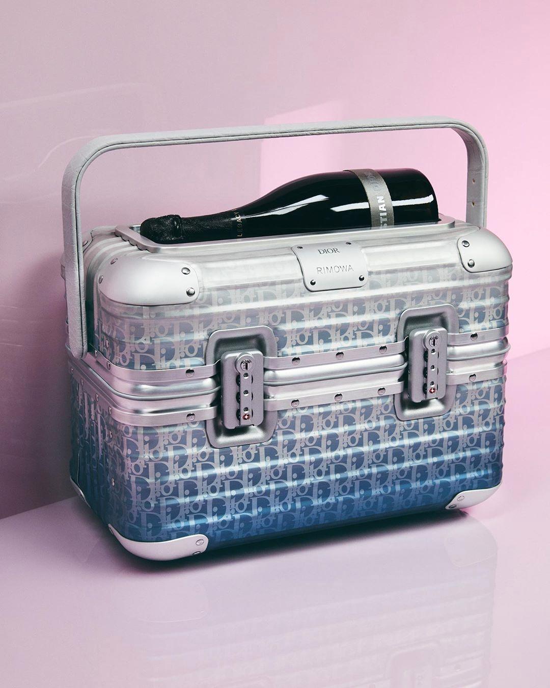 Чемодан Dior x Rimowa из коллекции Dior Spring/Summer 2020 Menswear