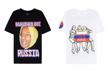 Российский мерч A$AP Rocky