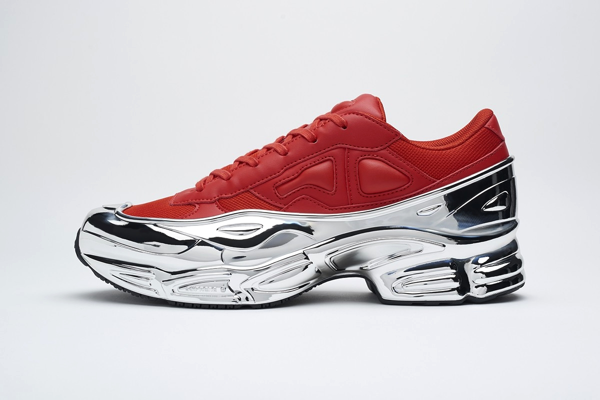 adidas by Raf Simons RS Ozweego в хромированных расцветках
