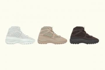 adidas Yeezy Desert — подробности релиза