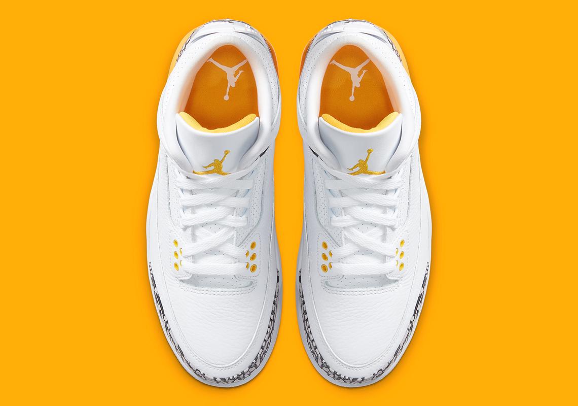 Air Jordan 3 «Laser Orange»
