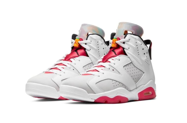 Nike Air Jordan 6 «Hare» детали релиза