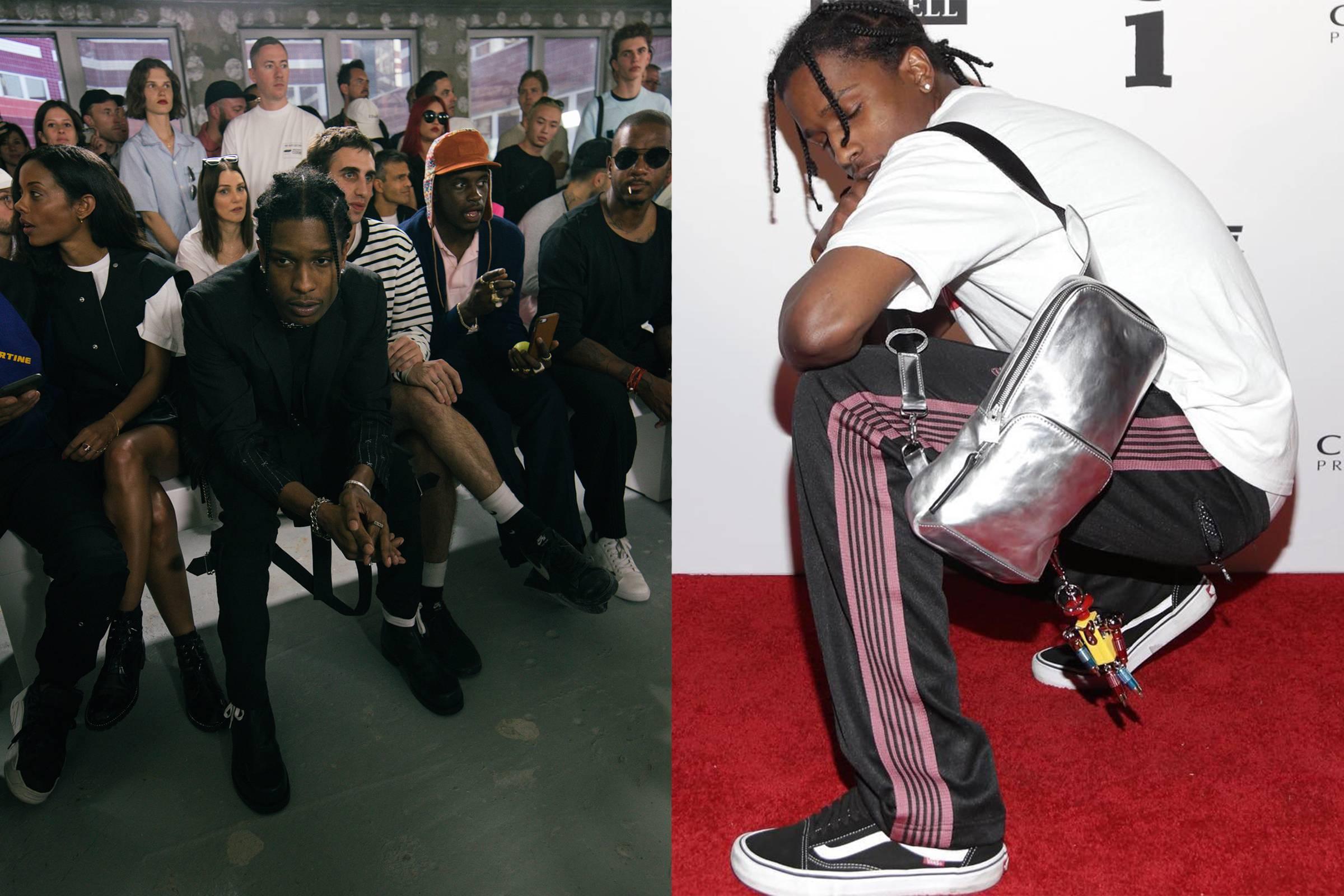 Мэтью Уильямс и A$AP Rocky