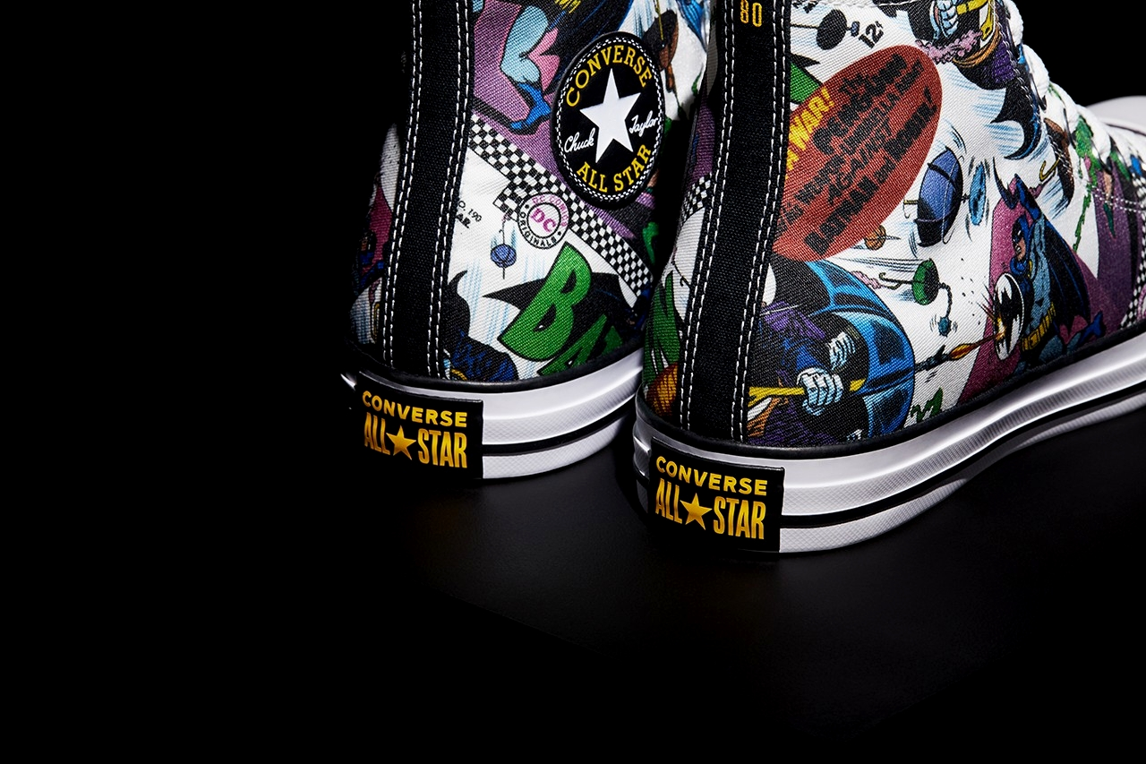 Batman x Converse Chuck Taylor All Star Hi Top