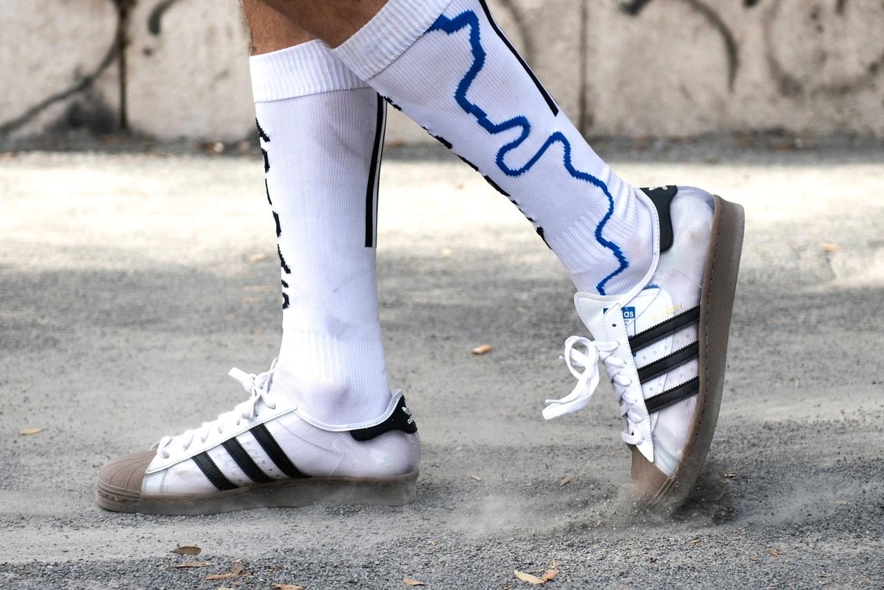 Blondey McCoy x adidas Superstar 80s в комплекте с носками