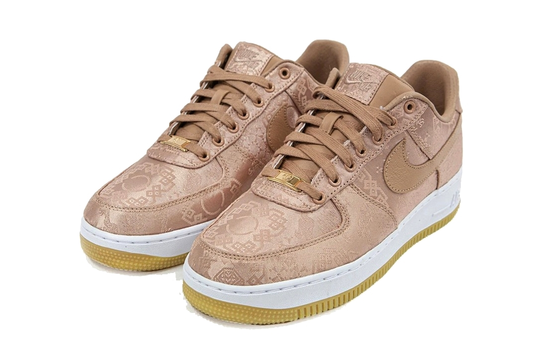 Clot x Nike Air Force 1 Low «Rose Gold Silk»