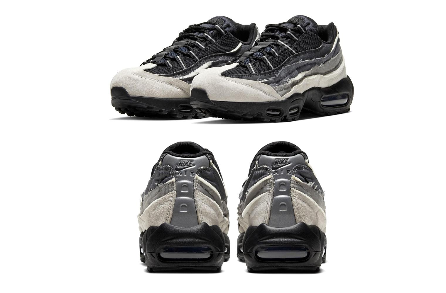 COMME des GARÇONS HOMME PLUS x Nike Air Max 95 Серый