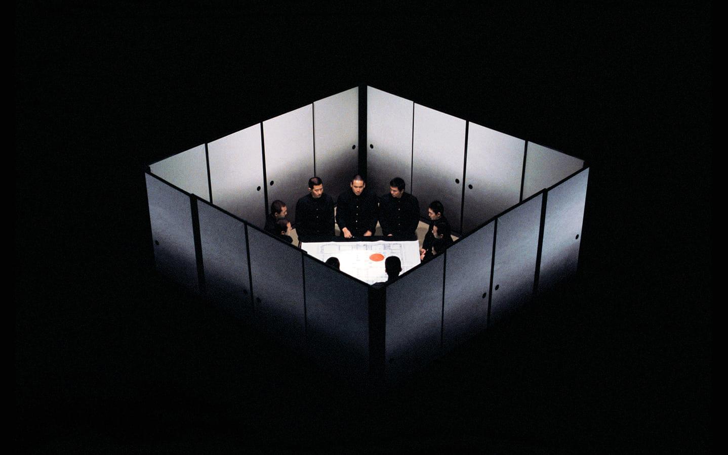 Декорации Эйко Исиоки для фильма Мисима Жизнь в четырех главах