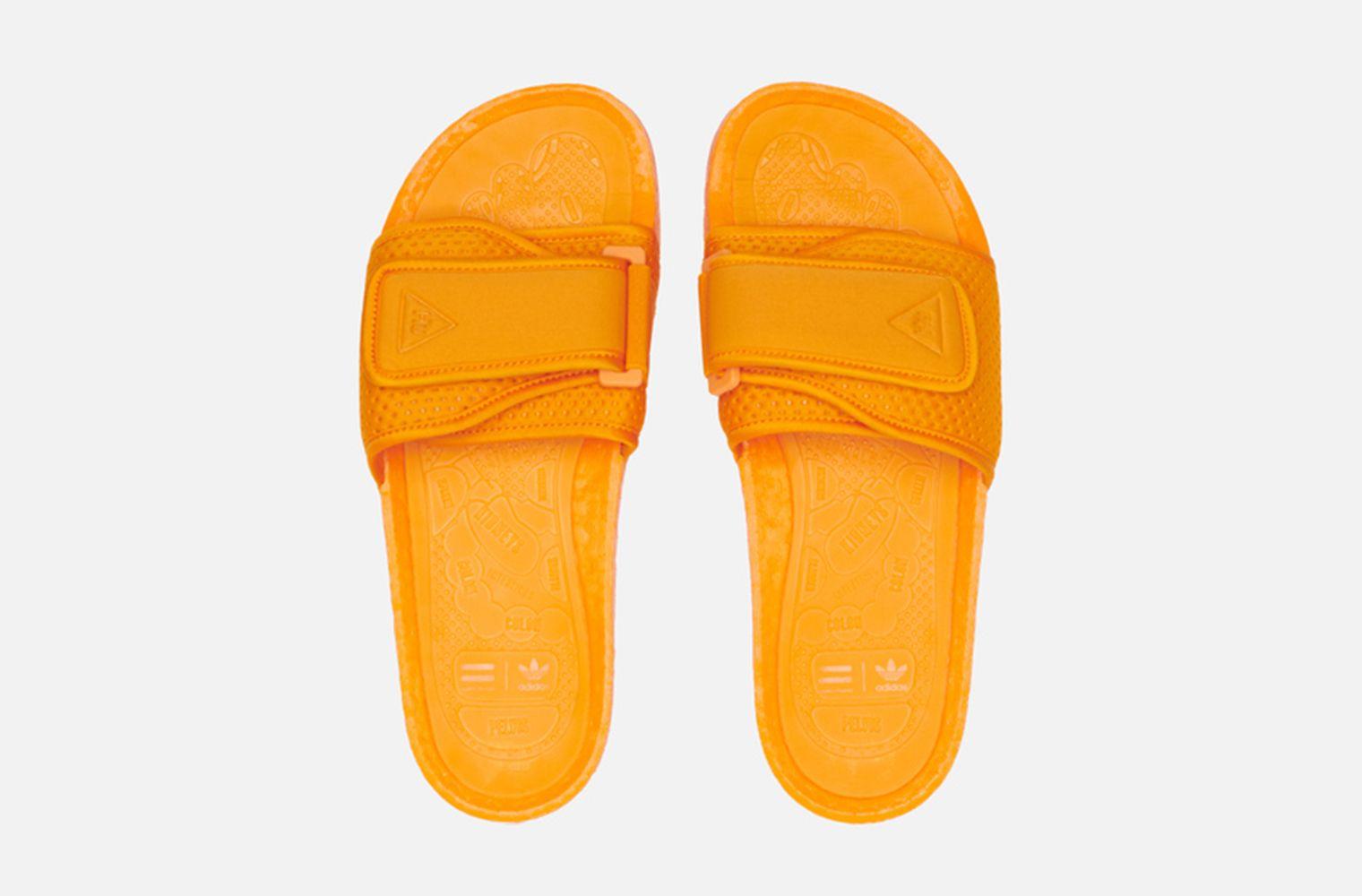 Pharrell Williams x adidas Boost Slide детали релиза