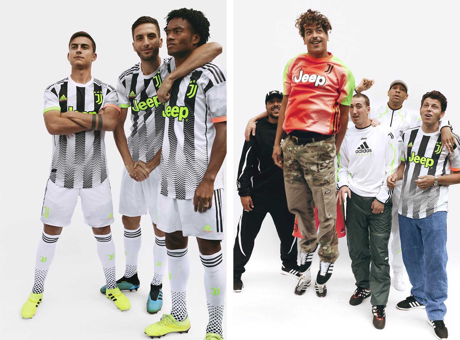 Juventus x Palace x adidas Football - полная коллекция