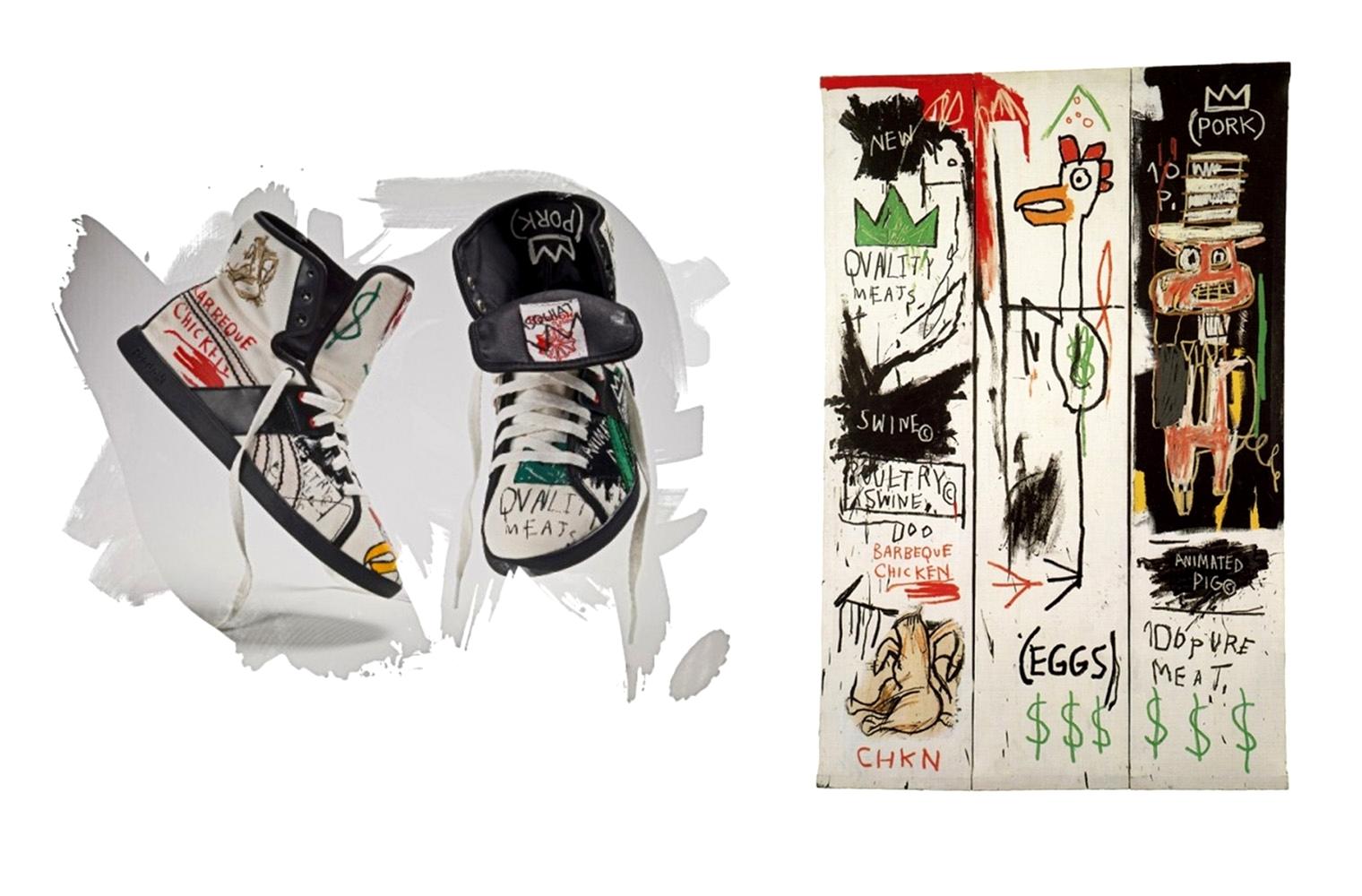 Reebok x Jean-Michel Basquiat Fall/Winter 2009