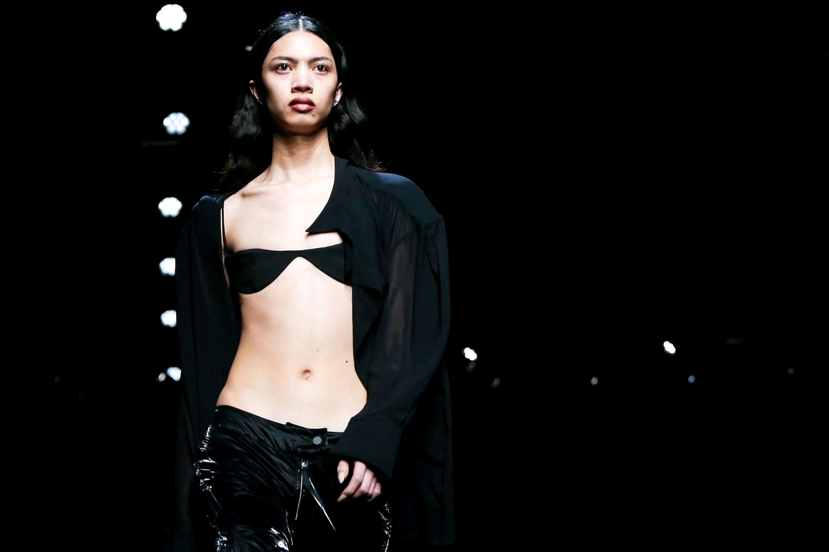Детали коллекции Mugler Fall/Winter 2020 Ready-to-Wear