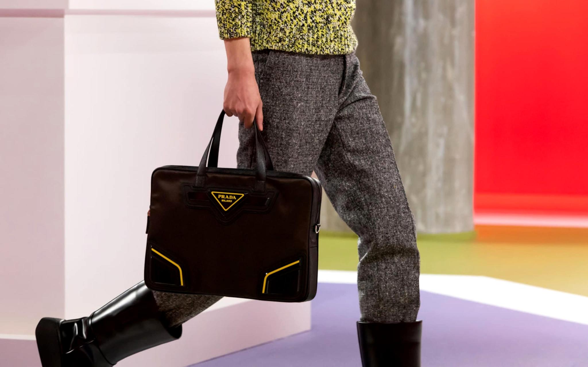 Сумка из коллекции Prada Fall/Winter 2020 Menswear