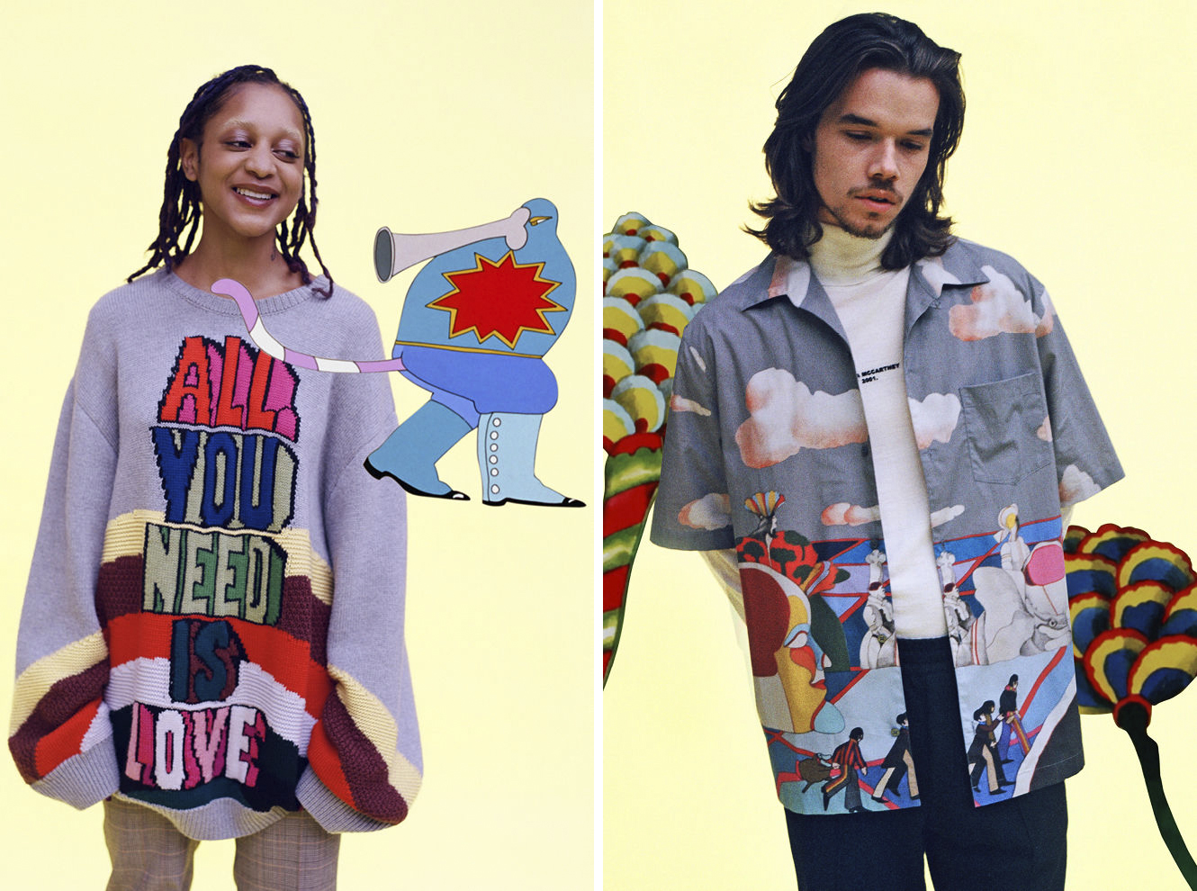 Stella McCartney x The Beatles All Together Now