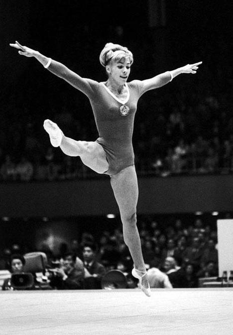 Лариса Латынина олимпийская чемпионка