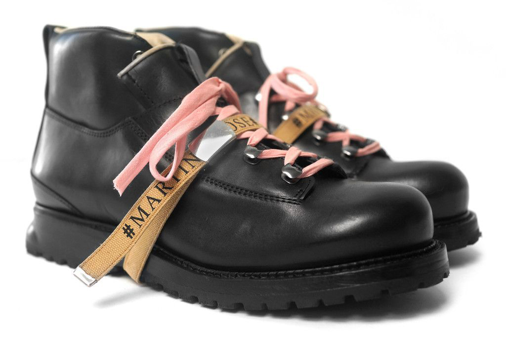 Martine Rose x Been Trill Hiking Boots Black