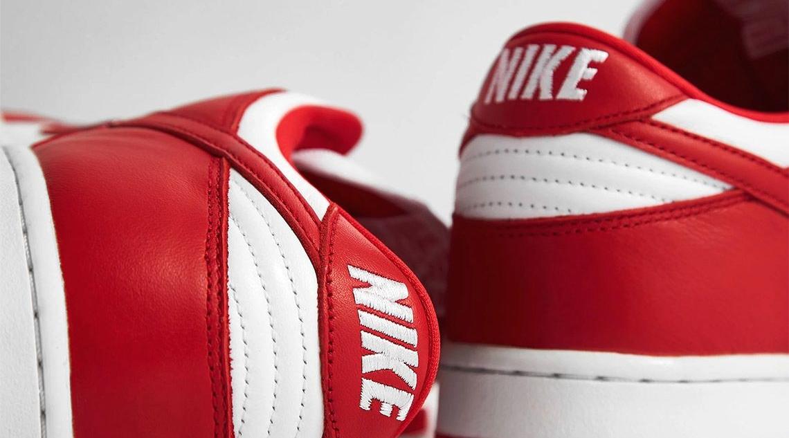 Nike Dunk Low «University Red» - где купить