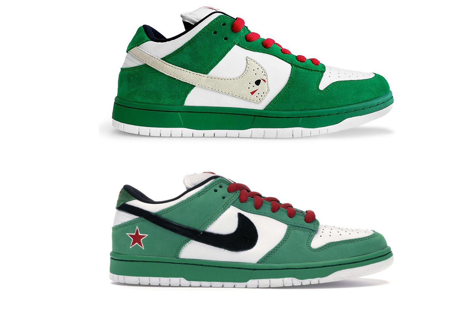 """Warren Lotas и Nike SB Dunk """"Heineken"""""""