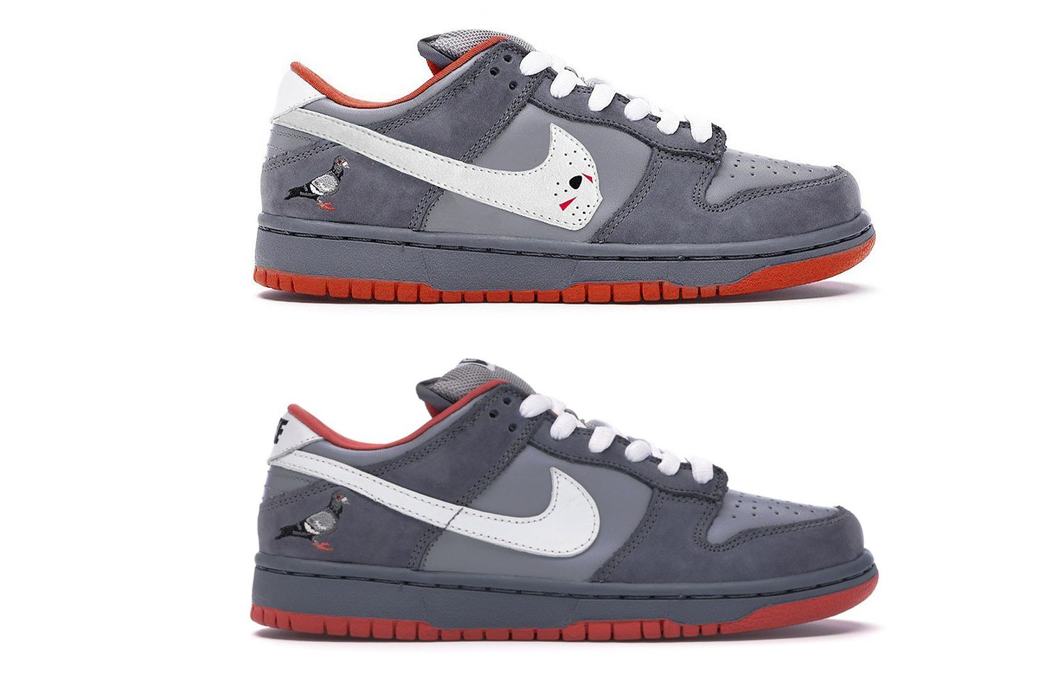 Warren Lotas и Nike Dunk SB «NYC Pigeon»