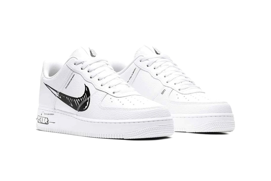 Nike Air Force 1 «Sketch»