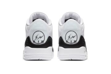 fragment design x Air Jordan 3 - где купить