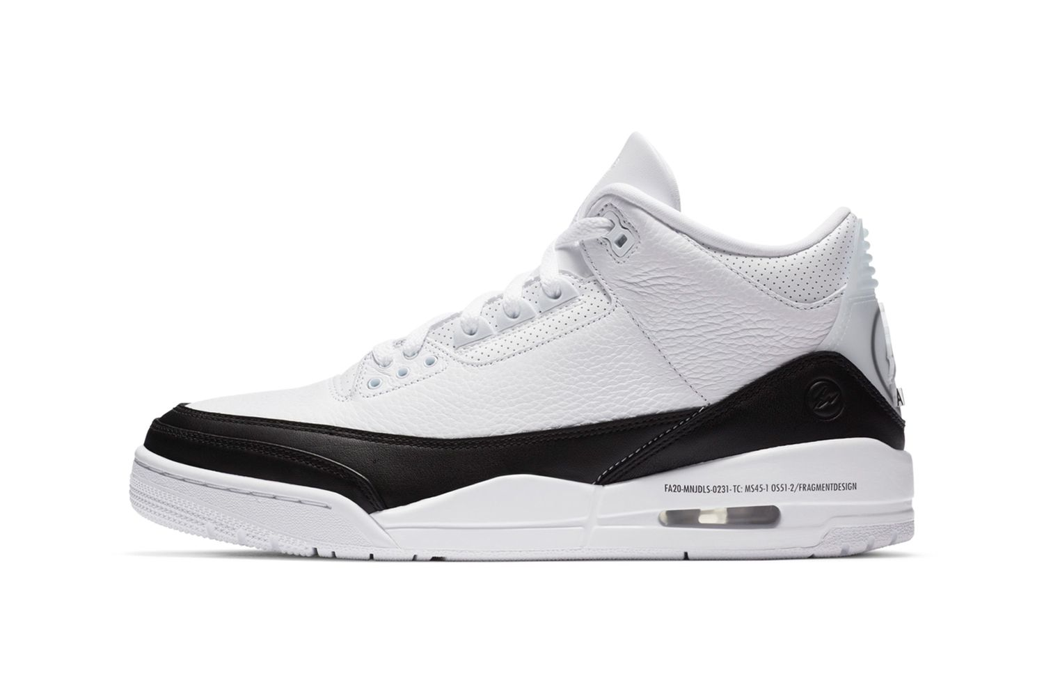 fragment design x Air Jordan 3 - где купить