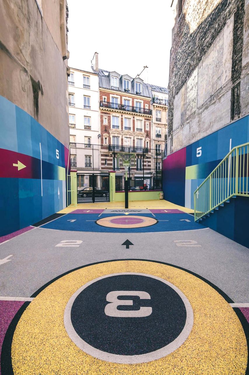 Баскетбольная площадка Pigalle 2020