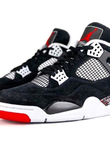 Совместные кроссовки марки Drake и Jordan Brand - OVO x Air Jordan 4 «Splatter»