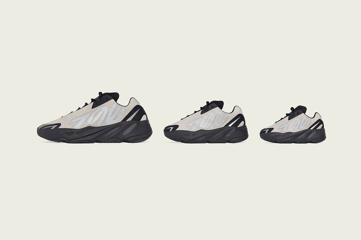 adidas Yeezy Boost 700 MNVN «Bone» детали релиза
