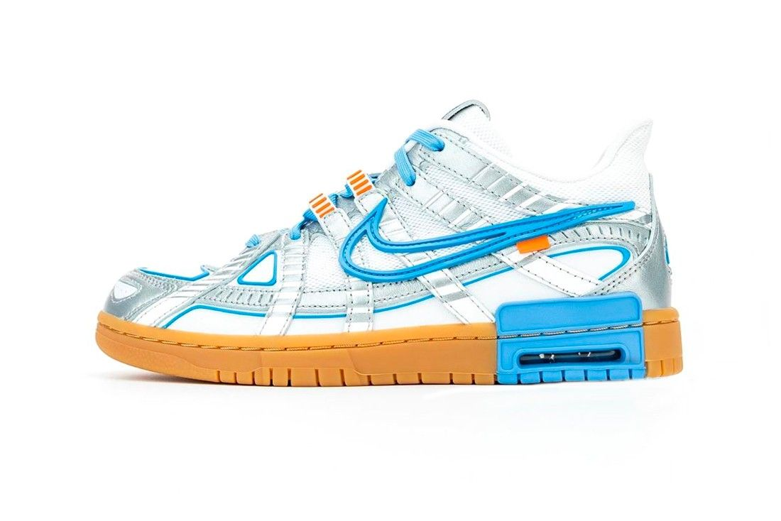 Off-White x Nike Air Rubber Dunk «University Blue»